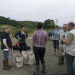 Westland Countryside Stewards and Derek Gow Consultancy pre water vole release